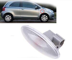 Side Turn Signal Lamp Fender Light 2 Pcs Fit for Toyota Corolla Camry Yaris RAV4