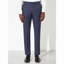 John Lewis Blue Woven In Italy Trousers BNWT  Striped Trousers SIZE 32R RRP £110