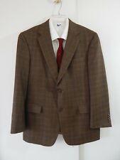 mens multi color HART SCHAFFNER MARX jacket blazer sport coat plaid short 42S 42