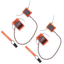 2pcs Dsmx DSM2 Remote Receiver For Spektrum DX6 DX6I Transmitter,AR6210- 6Ch
