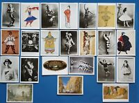 Lovely Set of 24 New Postcards Ballet Dance Diaghilev Ballets Russes Ballerinas