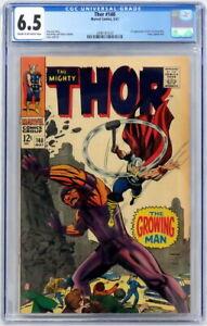 Marvel Comics Thor #140 CGC 6.5 1st Growing Man Kang Stan Lee Jack Kirby 1967