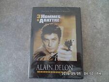DVD ALAIN DELON COLLECTION 3 HOMMES A ABATTRE  J26