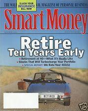 Smart Money Magazine October 2000 Retire Ten Years Early Slash Your Insurance