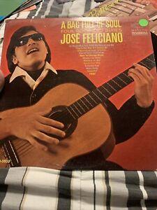 JOSE FELICIANO A Bag Full Of Soul LP OOP late-60's folk  Promo