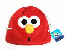 Elmo Plush Red Drawstring Bag NWT Sesame Street #001