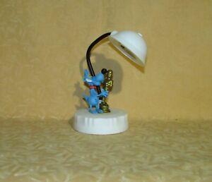 LAMPADA LUCE DA CAMERA LUPO ALBERTO STATUETTA OSCAR h 15 CM  cod.25185