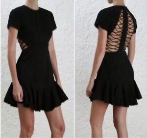 Zimmermann Lattice Broderie Dress Size 0
