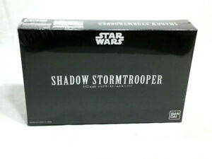 NEW Bandai Star Wars Shadow StormTrooper Plastic Model Kit Sealed 1:12 Scale