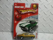 Hot Wheels 2005 Holiday Rods Gold 1967 Pontiac GTO w/Real Riders