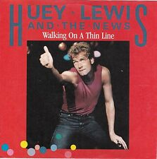 "Huey Lewis & News ""Walking On Thin Line"" German Record (NM) & Picture Slv (NM)"