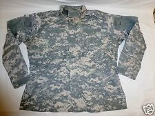 ACU Combat Uniform Shirt Coat Medium Short Military Issue Ripstop 50/50