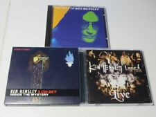 3x Ken Hensley LIVE FIRE THE BEST OF Inside the Mystery TOP!
