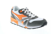 Diadora N9000 III 171853-C7940 Mens White Suede Lifestyle Sneakers Shoes 9