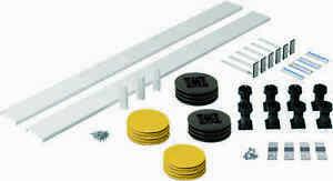 Shower Tray Panel Riser Kit Square/Rectangle Trays 1200mm Plinth Adjustable Feet