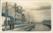 Algeciras Spain Waterfront Taken by officer HMS Ramillies 1931  pic 2