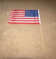 "12 Pack Mini American Flag on Stick 6 x 8 "" (12 Usa / Us Flags) New Free Ship"