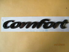 "OPEL VAUXHALL CORSA COMFORT EMBLEM BADGE 7 1/8"" REAR TRUNK 9229788 NOS"
