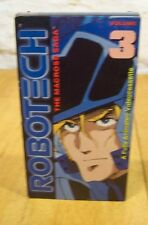 The Robotech The Macross Saga - Vol. 3 Vhs Video 1987