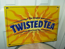Twisted Tea Hard Iced Tea Tin Sign