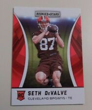 2016 PANINI ROOKIES AND STARS FOOTBALL #210 SETH DEVALVE ROOKIE CARD - BROWNS