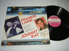 FRANKIE LAINE & JOHNNY RAY Italy LP La Grande Storia del Rock Curcio GSR-86 VG++