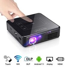 OTHA Mini Projector Portable DLP WiFi Wireless Projector for Home Cinema