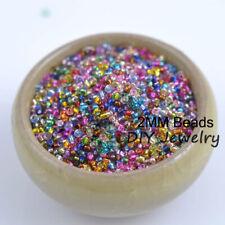 Wholesale Lots 1000pcs 2mm Diy Charm Czech Glass Seed beads Jewelry Making Craft