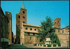 AD1428 Savona - Provincia - Albenga - Monumento ai Caduti e Chiesa