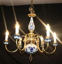 Brass Vintage/Retro 4-6 Lights Chandeliers
