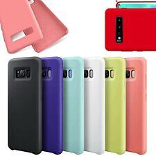 COVER per Samsung Galaxy S10 S10e Plus S9 S8 Note 10 9 CUSTODIA Silicone Genuine