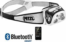 Petzl Reactik + 300 Lumens Rechargeable Bluetooth Outdoor Head lamp Torch