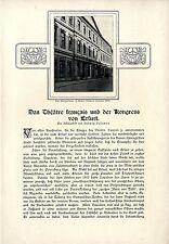 L.Salomon Das Théâtre francais und der Kongress von Erfurt Das Ballspielhaus1909