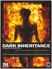 DARK INHERITANCE  MODERN RPG D20 Roleplaying campaign Mythic Horror MTH1000 (HC)