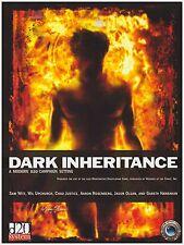 DARK INHERITANCE  MODERN RPG D20 Roleplaying campaign Mythic Horror MTH1000 (HC)