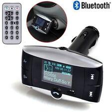 Bluetooth FM Transmitter Modulator Car Kit MP3 Player USB with Remote Controller