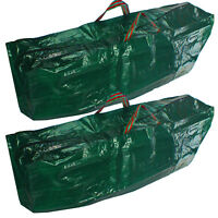 Garden Leaf Collect Waste Zip Cover Large Heavy Duty Travel Carrier Bag x 2