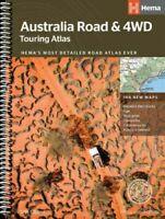 Hema Maps Australia Road & 4WD Touring Atlas 12th Edition 188 New Maps (NEW)
