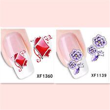 2Sheet/New Fashion Trend Beautifully Beautiful DIY Nail Stickers XF1360+1139