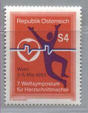 Österreich 1738  Weltsymposium über Herzschrittmacher, Wien - 1983 **