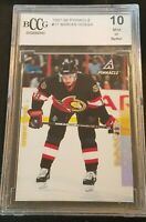 1997 Pinnacle Marian Hossa #17 Rookie RC BCCG 10 GEM MINT