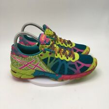 Asics Womens Gel Noosa Tri 9 Running Shoes Multicolor T458N Low Top Lace Up 6.5M