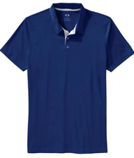 Oakley Divisional Polo Mens Golf Shirt Blue ~ Small