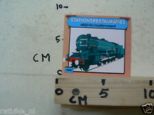 STICKER,DECAL TRAIN 1945 STATIONSRESTAURATIES ALTIJD DE MOEITE WAARD
