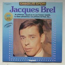 JACQUES BREL Disque dor 6886109 Collection Impact
