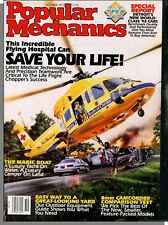 Popular Mechanics - 1992, October - Helicopter High-Tech Emergency Room