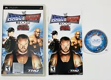 WWE SmackDown vs. Raw 2008 Featuring ECW (Sony PSP, 2007) COMPLETE! FAST SHIP!