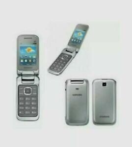 SAMSUNG GT-C3592 Flip Mobile Phone Unlocked -  SILVER, WINE RED BRAND NEW