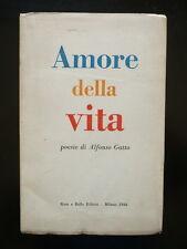 Gatto Alfonso Amore Vita Poesie Novecento Rosa Ballo Milano 1944 Prima Edizione
