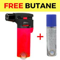 Eagle Jet Torch Adjustable Flame Windproof Butane Refillable Lighter Red